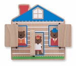 Wooden Toys | First Play Peek-a-Boo House