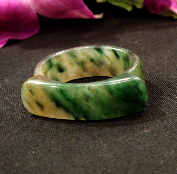 Forest Jade Ring
