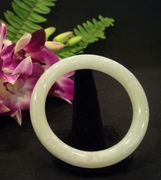 Icy Jade Bangle