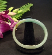 Multi-colored Jade Bangle