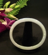 Oval Shape Jade Bangle