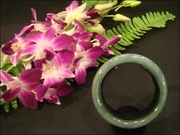 Translucent Light Green Bangle