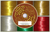 6 Colors Metallic Kit & 100 Thread Nets Special