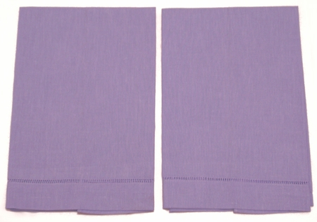 6 Light Violet Guest Towels