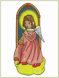 Angel of Joy with Horn