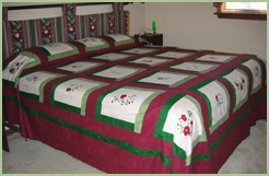 Bed-cover quilt