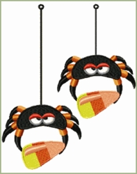Candy Corn Spiders