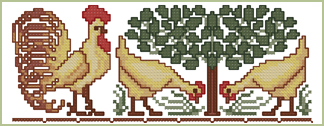 Chicken Paradise Border