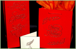 Christmas Postcards & Gift Bags