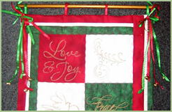 Christmas Quilts Set