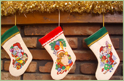 Christmas Stockings in various shapes!