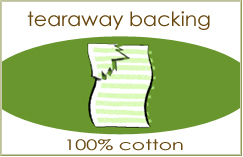 Cotton Tear-Away Stabilizer