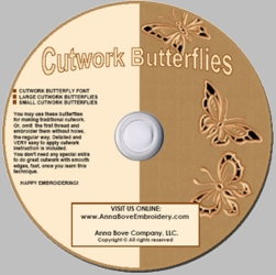 Cutwork Butterflies Combo Pack