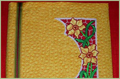 Daffodil Lace Book Cover
