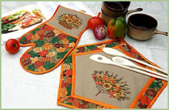 Fall Kitchen Set