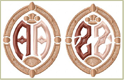 Golden Rome Monograms