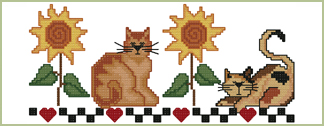 Kitties Border