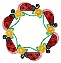 Lady Bug Hexagon