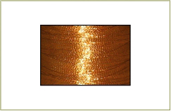 Metallic thread cone - Copper