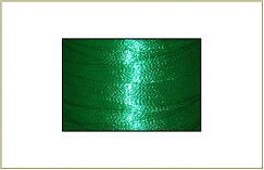 Metallic thread cone - Green