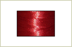 Metallic thread cone - Red