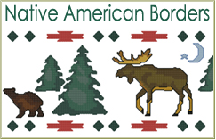 Native American Borders