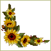 NEW FREEBIE!  Sunflower Corner