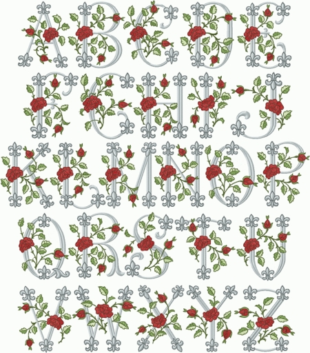 Royal Rose Font