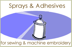 Sprays, Adhesives