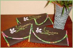 Tableware Cases with Irises