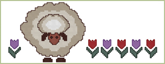 The Little Sheep Border