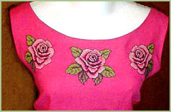 Top & Skirt with Roses