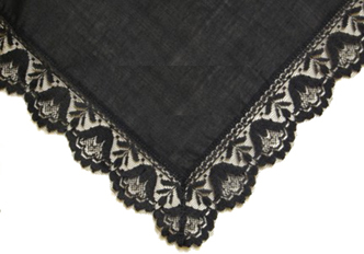 Twilight Lace Handkerchief
