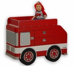 Fire Engine Changing Table