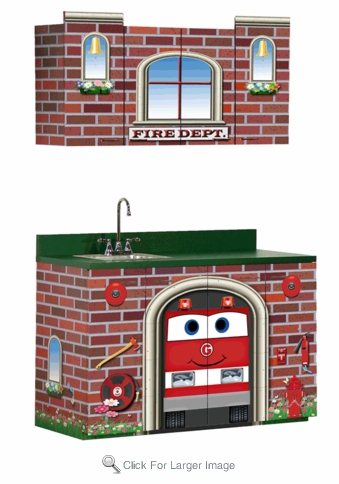 Fire Station Cabinets