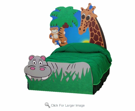 Jungle Safari Bed