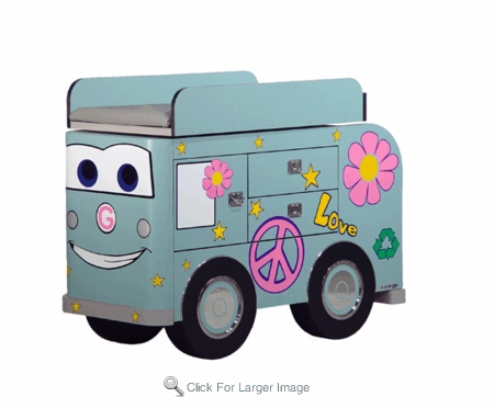 Lucy Love Bus Changing Table