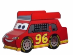 Ricky Race Car Changing Table