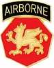 108th Airborne Division Pin