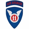 11th Air Assault Division Patch