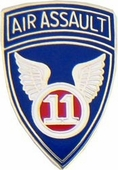 11th Air Assault Pin