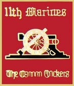 11th Marine Regiment Pin
