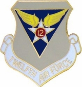 12th Air Force Pin