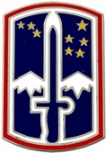 172nd Infantry Brigade Pin