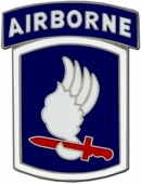173rd Airborne Brigade Pin - OUT OF STOCK