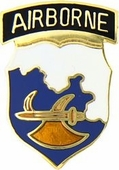 18th Airborne Division Pin