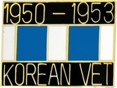 1950-1953 Korean Vet Pin