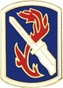 198th Infantry Brigade Pin