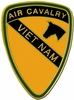 1st Air Cavalry Division Vietnam Pin
