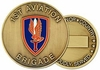 1st Aviation Bricade Challenge Coin
